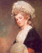 George Romney Mrs Mary Robinson oil